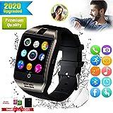 Bluetooth Smartwatch con Camera,Smart Watch Phone Touchscreen,Smart Orologio,Impermeabile Orologio Intelligente con SIM Card Fessura per Android ios phone XS XR X11 X10 X8 S9 S8 S7 Uomo Donna