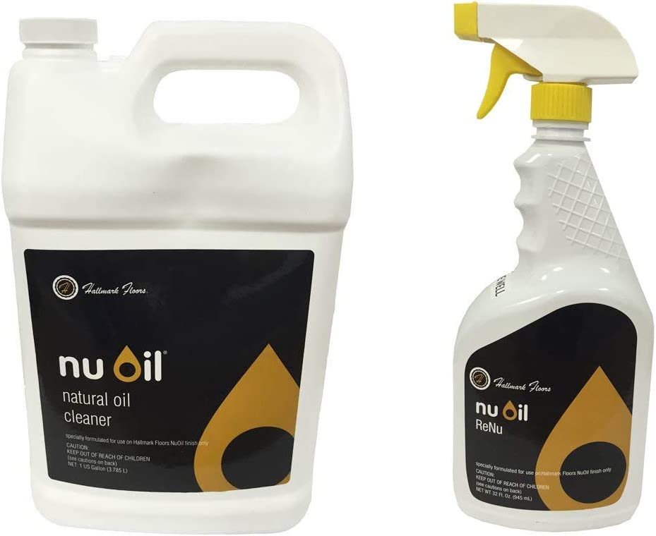 NuOil Max 49% OFF Fashion Cleaner Gallon and Renu Bundle Spray Bottle