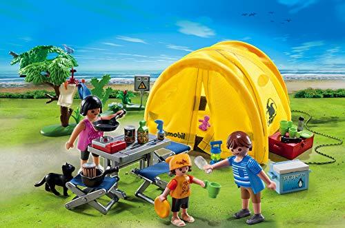 Tente de Camping Playmobil pour la Famille 5435 - 3