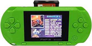 Livoty Playstation Kids Handheld Game Console Portable Gaming System 16 Bit Classic Game Console LCD Game Player