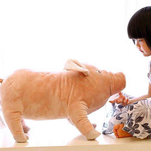 Rainbow Fox Kinder Tier Spielzeug Niedlich Schwein Kissen Weich Kissen Ausgestopft Plüsch Spielzeug (55cm)