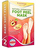 Exfoliating Foot Peel Mask for Baby Soft Feet – Dermatologically Tested - 2
