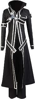 Sword Art Online Kirito Kirigaya Kazuto Cosplay Costume Halloween SAO Outfit Suit