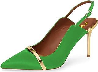 e999c9bf4f1 Amazon.com: Green - Pumps / Shoes: Clothing, Shoes & Jewelry