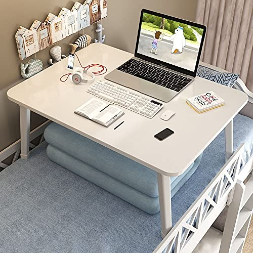 KAIFENGJUBIAN Hogar Dormitorio Portátil Aprendizaje Portátil Mesa Plegable Mesa Elefante Piernas Moderno Minimalista Cama Escritorio Computadora