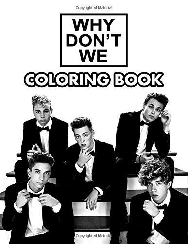 Why Dont We Coloring Book