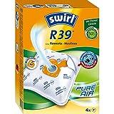 Swirl R 39 MicroPor Plus Staubsaugerbeutel für Rowenta und Moulinex Staubsauger | Dauerhaft hohe Saugleistung | Anti-Allergen-Filter | 4 Stück