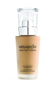 Mirabella Skin Tint Crème Medium Coverage Liquid Mineral-Based Foundation
