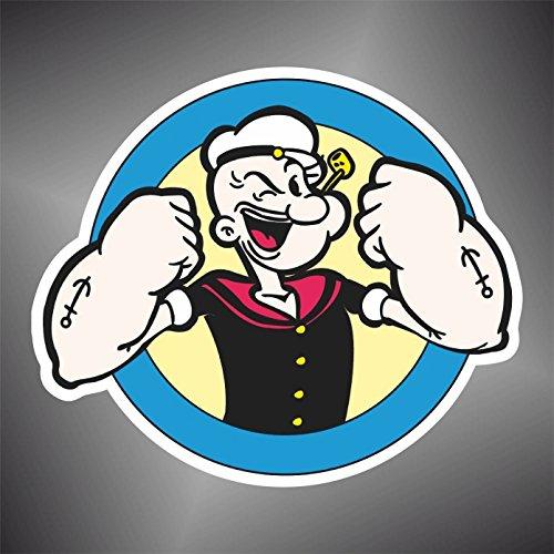 Aufkleber - Sticker Braccio di Ferro Popeye Comics cartoon sticker