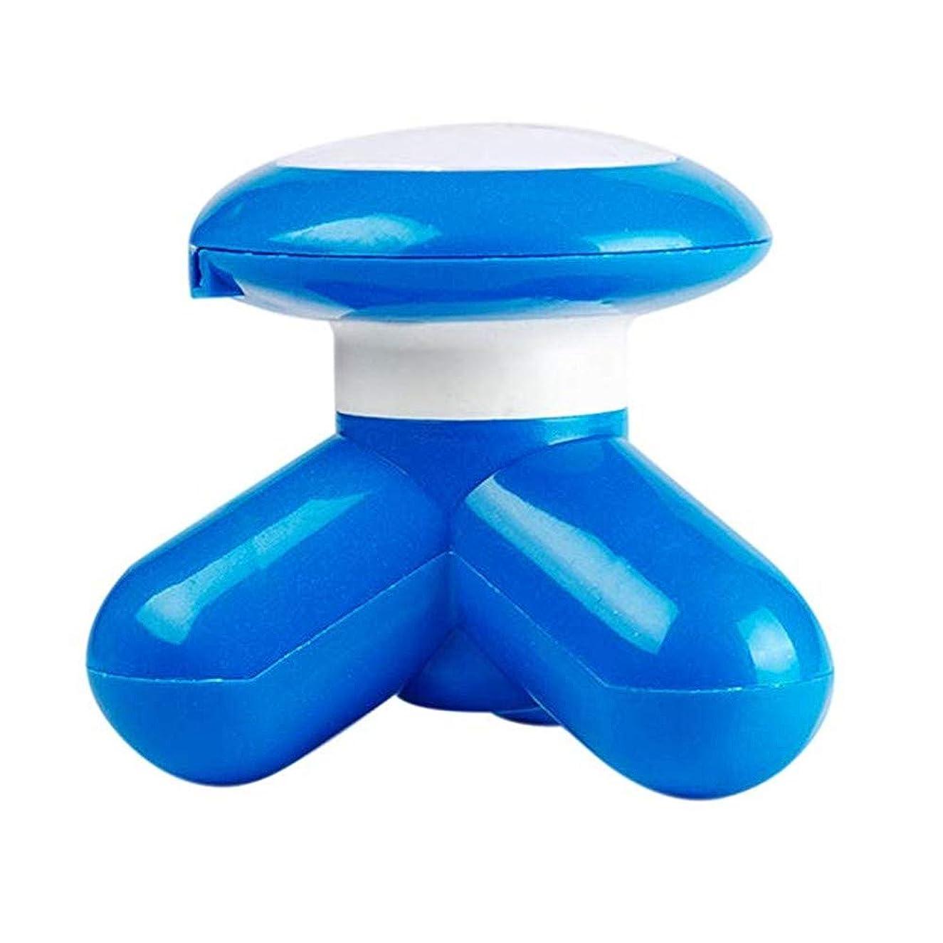 耐えられないやりすぎうがい薬マッサージャー3脚ブラケット小さなミニUSB充電式ポータブルデザイン手持ち型多機能深部組織筋肉の疲労を和らげる肩の後ろの首