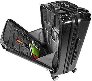 SQbags Maleta de viaje o negocios, carry on 20 pulgadas aceptado en la cabina de cualquier aerolínea. Candado TSA. Cubierta de polipropileno.