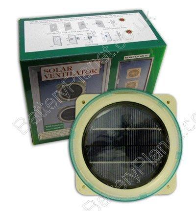 Solar Powered Ventil