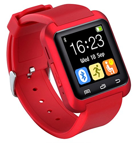 U80 Smart Watch Bluetooth 4.0 für Sport & Gesundheit, Anti-Verlust-Handgelenk-Wrap Watch Phone Mate für Smartphones iOS Android Apple iPhone 5/5C/5S/6/6 Puls
