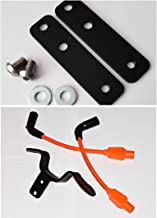 JBSporty ♧ Coil and Ignition Relocation Bracket w/Taylor Wires and Tank lift Kit ♤ Harley Davidson Sportster, Nightster, 72, 48 Iron Roadster 883 1200 ♤ (Orange)