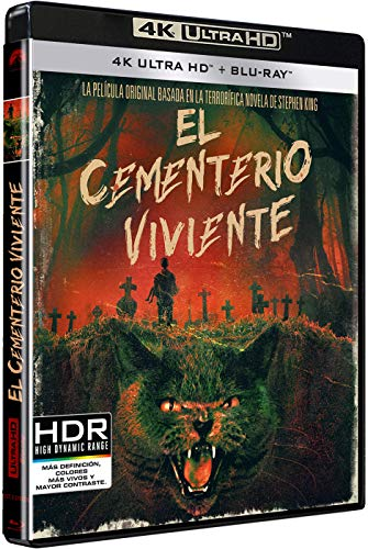 Cementerio Viviente (4K UHD + BD) [Blu-ray]