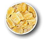 1001 Frucht leicht kandierte Ingwer Stück 1 kg Trockenfrüchte I mit Vitamin C Magnesium Eisen I kandierter Ingwer Thailand I Candied Ginger I Ingwerstücke scharf bis süß