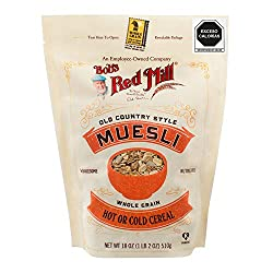 Old Country Style Muesli is a tasty traditional European-inspired muesli cereal made from a blend of whole grain wheat, rolled oats, raisins, almonds and walnuts. Enjoy cold as a breakfast cereal with milk, hot like oatmeal, Or the traditional Swiss ...