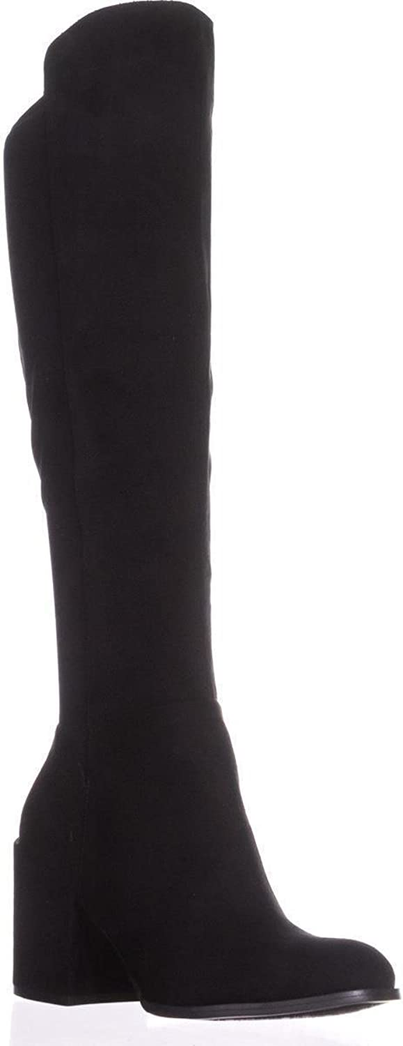 Marc Fisher Lacole2 Knee High Boots, Black Multi