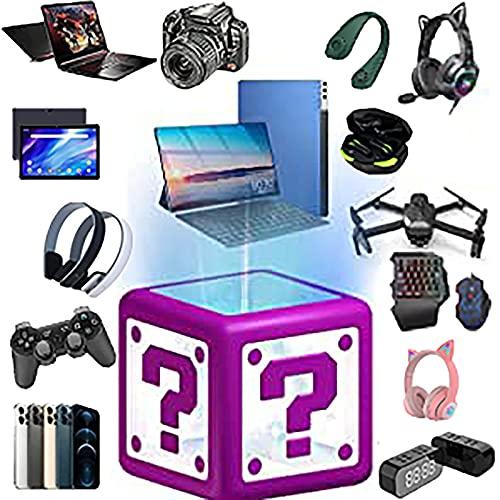 OMKMNOE Mystery Box, Mistero Random Box Box Elettronica Surprise Contiene Doni Inaspettati Come Droni Bluetooth Cuffie Come Regalo Gli Altri O Addirittura Una Sorpresa,Mystery