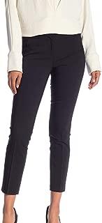 Womens Pants Stretch Slim Cropped Leg Black 16