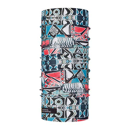 Buff Tour de Cou Coolnet UV+ National Geographic Mixte, Multicolore, Taille Unique, 122645.555.10.00