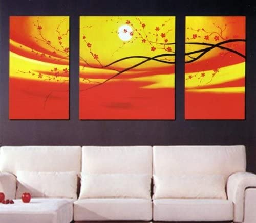 Asian Home Modern Abstract Art OFFicial shop Oil to Cheap sale Painting Stretched H Ready