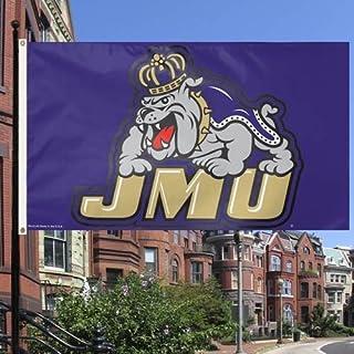 WinCraft NCAA James Madison Dukes Flag, 3 x 5-Feet