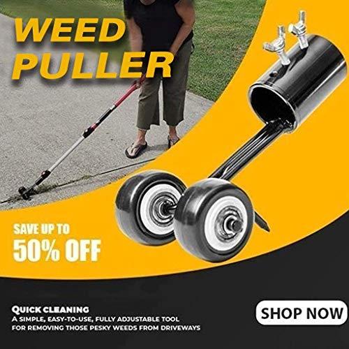72WorldClass Sidewalk Weed Puller,Weeds Snatcher,Crack and Crevice Weeding Tool,Weeding Head,Gardening Tools,Stand Up Weeder Weed Puller