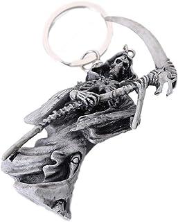 Generic 1pc Rubber Skeleton Keychain Hanging Pendant Fashion Handbag Car Keyring Decor