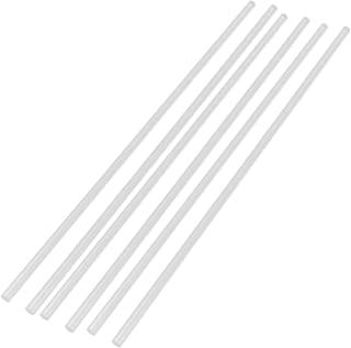 """Aexit 6Pcs (Electrical equipment) 6mm Dia Clear Round PMMA Extruded Acrylic Rod Bar (60ry158qf365) 12"""" Length"""