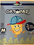 Ortopad Boys Motivos grandes Medium 50 uds (Niño tala M) (73322)