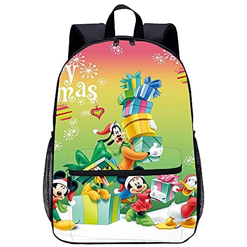 Zaino Stampa 3D da scuola per bambini Zaino Disney da viaggio unisex di moda Borsa da scuola Dimensioni: 45x30x15 cm/17 pollici Zaini per la scuola per bambini