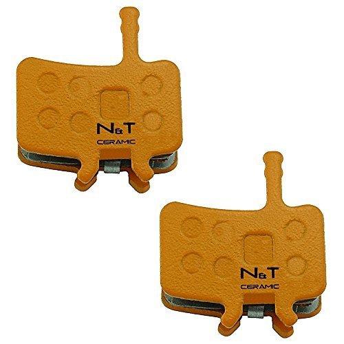 Noah And Theo 2X nt-bp002/CR céramique plaquette Frein à Disque Compatible avec Avid Juicy 3, 3.5, 5, 7, Carbon, Ultimate, BBDB, BB7, BB7 MTN S, BB7 Mountain, BB7 Road S, BB7, Road SL