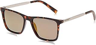نظارة شمسية للرجال من نوتيكا، لون بني، 55 ملم N3646SP