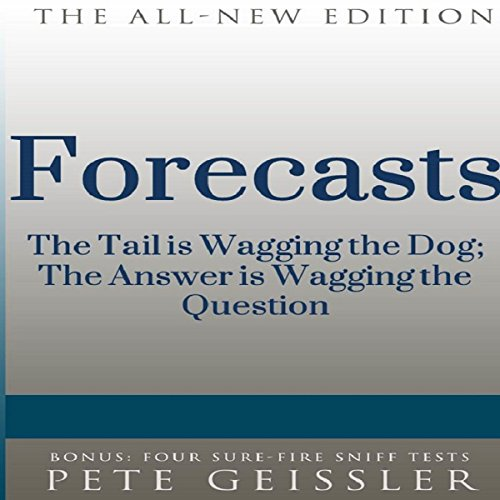 Forecasts audiobook cover art