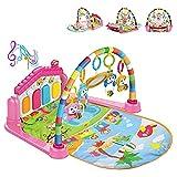 Baby Play Mat Play Piano Gym Activity Centre con Musica, luci, Giocattoli per Neonati e Bambini 0-12 Mesi (Vecchia Confezione Rosa)