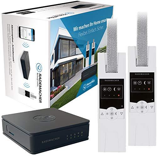 Rademacher 30110001 Centro Smart Home con 2 bobinas de correa eléctrica (RolloTron Standard DuoFern 1400)