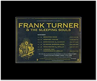 Music Ad World Frank Turner - UK Tour 2011 Mini Poster - 21x13.5cm