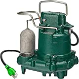 Zoeller M63 Premium Series 5 Year Warranty Mighty-Mate Submersible Sump Pump, 1/3 Hp (Pack of 1)