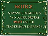 ヴィンテージメタルサイン商人の入り口の壁の装飾インチ
