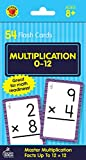 Carson Dellosa | Multiplication Flash Cards | Select Factors through 12, 54ct
