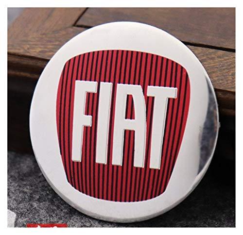 xy Tapas para Llantas de Coche 4pcs 56mm Compatible con Fiat 500...