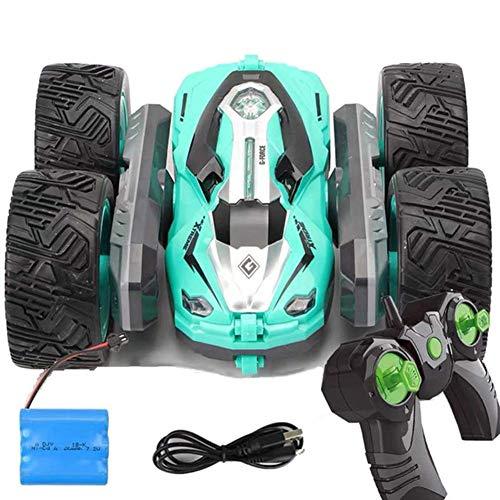 El juguete favorito del bebé, gran regalo para los 1:12 RC Coche 4WD TAMAÑO grande Off-road Control Remoto Automóvil Drift Drift Drift Deformación Doble cara Rueda de automóvil Recargable Juguete