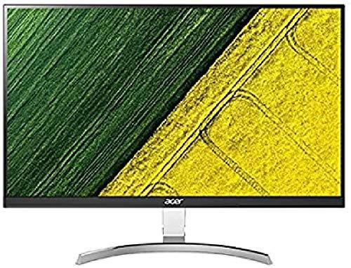 Acer RC271Usmidpx 27 Inch WQHD Monitor, Black (IPS Panel, 4 ms, ZeroFrame, DP, HDMI, DVI)