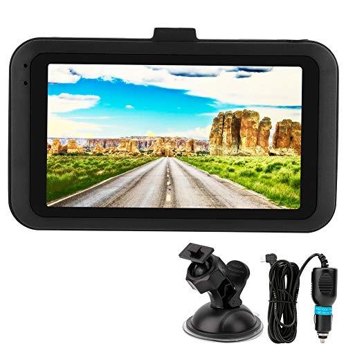 Kimiss Dash Cam 3 inch 1080p HD achteruitrijcamera, IPS-scherm, nachtzichtcamera, parkeerkamera, loop-opname