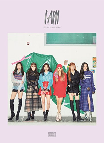 Cube Entertainment (G) I-DLE - I am (1st Mini Album) CD+Booklet+Photocard+ID Photo+2Stickers+Folded Poster