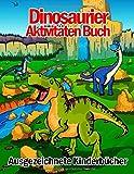 Ausgezeichnete Kinderbücher Dinosaurier Aktivitäten Buch: 108 Seiten Top Klassiker Aktivitäten Für Jungen & Mädchen, Dino Malbuch, Von Punkt Zu Punkt, ... Rätselbuch, Zeichnung Bild, Color By Numbers!