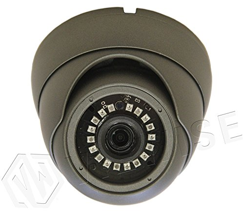 VIEWISE Analog HD 1080P 2 Megapixel Eyeball Turret Dome Camera, Sony Sensor, Indoor / Outdoor Surveillance Security Camera 3.6mm Lens Day & Night Vision 4-in-1 HD-TVI, AHD, CVI, CVBS (Gray)
