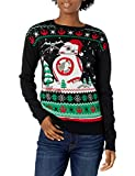Star Wars Women's Ugly Christmas Sweater, BB8/Black, Large
