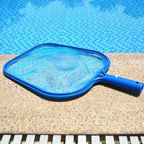 CREPRO Swimming Pool Nets, Professional Cleaning Pool Rakes/Fine Mesh Leaf Skimmers Rake Net for Removing Debris